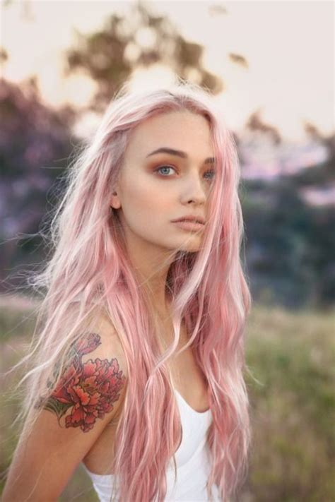 pastel hair colors for women in their 30s long pastel colored looks to try in 2017 hairstyles 2018