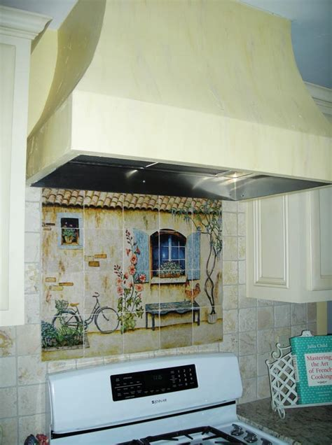 Country Kitchen Backsplash Tiles by French Country Kitchen Backsplash Tiles Wall Murals