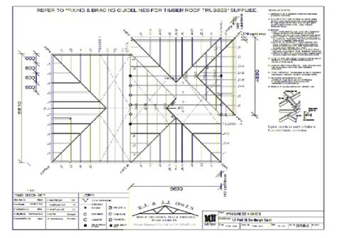 roof design plans trusses