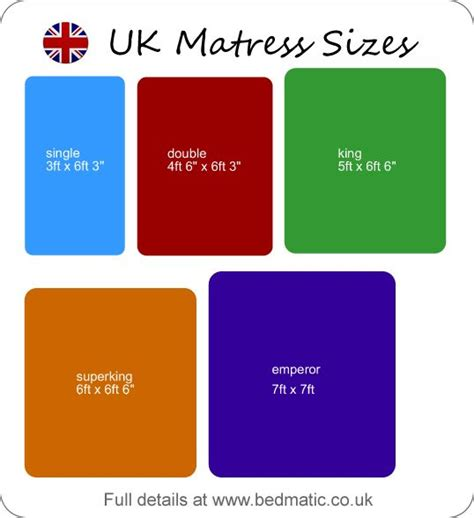 bed size charts the 25 best bed size charts ideas on pinterest bed