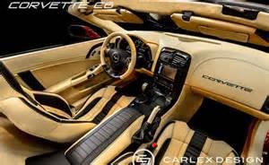carlex design shows upgraded c6 corvette interior