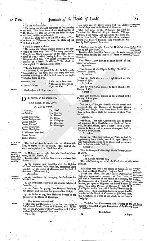 section 179 history house of lords journal volume 7 2 december 1644 british