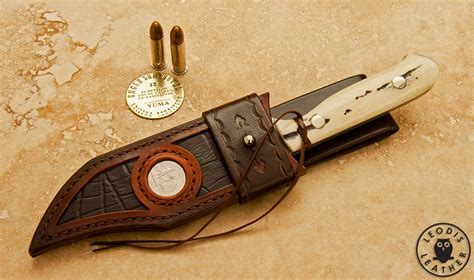 cowboy knife sheath miscellaneous custom leather knife sheaths