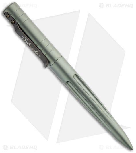 schrade pen schrade grey aluminum pen tactical defense tool scpeng