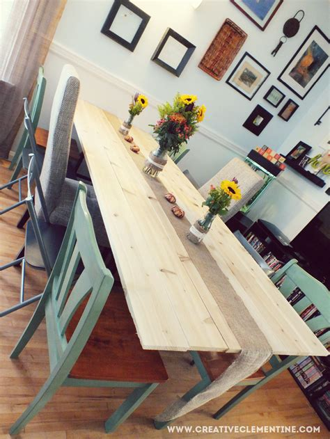 diy wall mounted dining table creative clementine