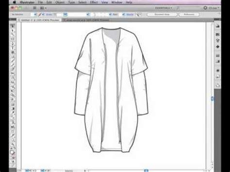 illustrator cs5 pen tool used for fashion design (nyim