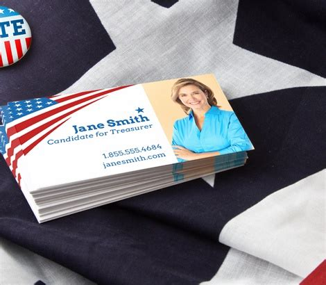 political caign business cards political business cards caign business cards