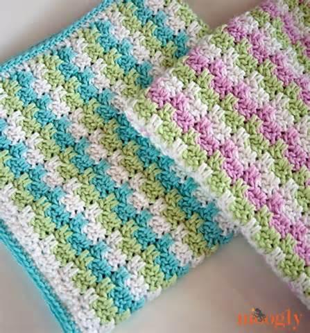 Stripes blocks blanket beautiful free crochet patterns