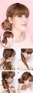 home haircuts you can do yourself more hairstyles you can do at home hidden scrunchy