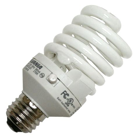 Led Fluorescent Light Bulbs Sylvania 28952 Cf23el Micro Led 827 Hvp Twist Medium Base Compact Fluorescent Light Bulb