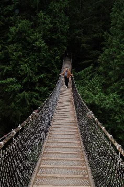 swinging bridge vancouver 1000 images about been there done that and it was