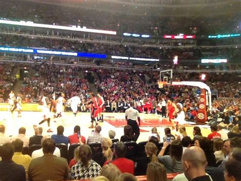 section 111 united center best game of my life united center section 111 review