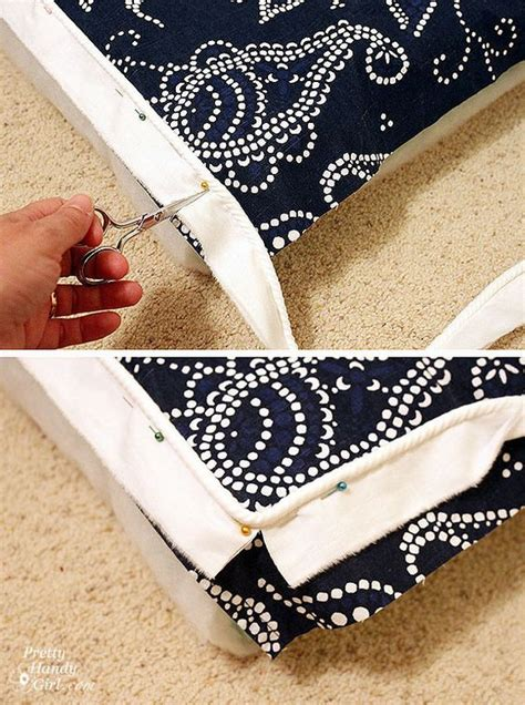 sewing a bench cushion bench cushion tutorial sewing pinterest bench