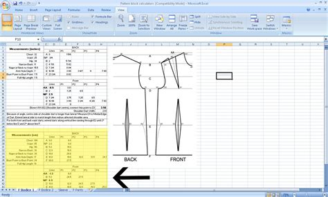 pattern drafting measurements grosgrain free pattern drafting calculator for your