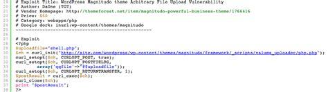 wordpress theme editor vulnerability wordpress magnitudo theme vulnerability secudemy com