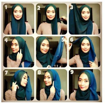 tutorial segi empat monocrom tutorial hijab monochrome pashmina dan segi empat modern