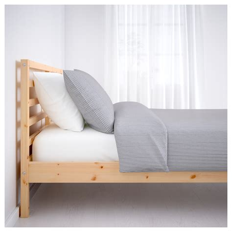 tarva bed frame tarva bed frame pine l 246 nset standard single ikea
