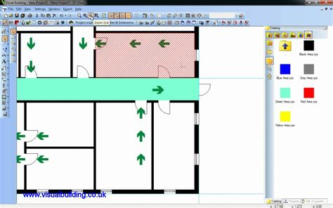 building layout maker visual building tutorial creating a fire escape plan youtube