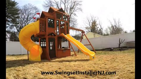 costco swing set 2017 canyon ridge costco swing set youtube