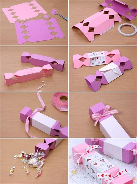How To Make Handmade Paper Gift Boxes - gifts wrapping ideas and small