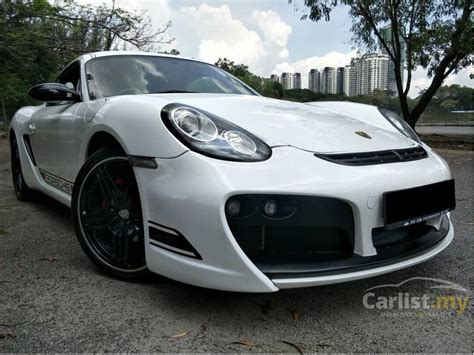 porsche cayman 2009 2 7 in kuala lumpur automatic coupe white for rm 121 800 3935236 carlist my
