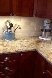 Kitchen Countertops And Backsplash Pictures by Backsplash Help To Go W Typhoon Bordeaux Granite