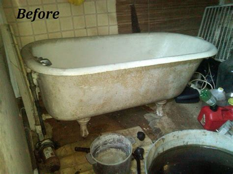 cleaning porcelain bathtub how to clean an old porcelain bathtub image bathroom 2017