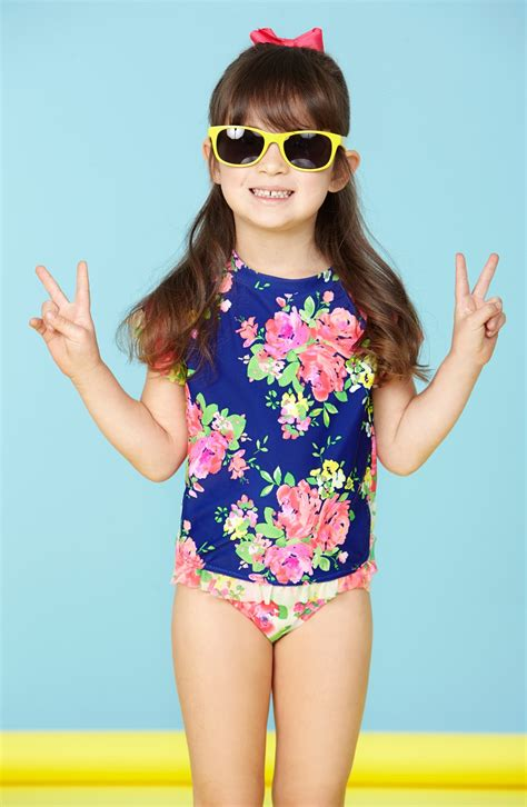 kids two piece swimwear hula star romance two piece swimsuit toddler girls