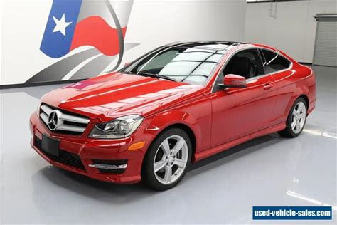 Mercedes 2013 For Sale by 2013 Mercedes C Class For Sale In The United States