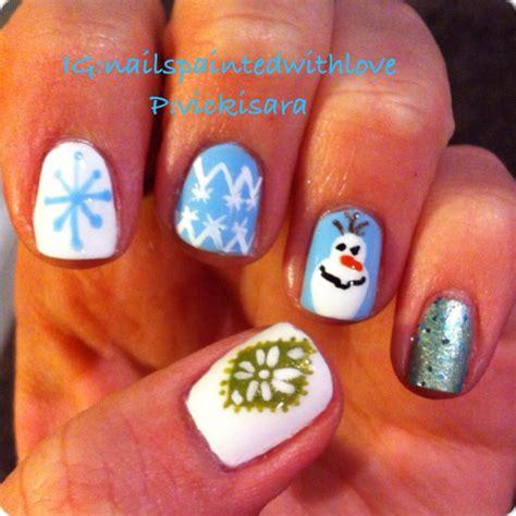 Frozen Nail Olaf