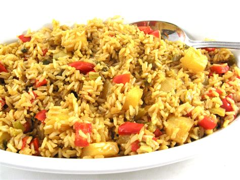 rice dish simple to make and healthy pineapple brown rice with
