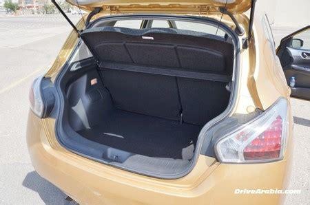 nissan tiida trunk space so we got a 2014 nissan tiida 1 8sl drive arabia