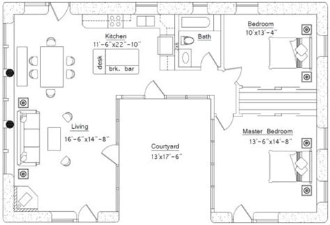 Straw Bale House Plans Small Affordable Sustainable Straw Bale House Plans Courtyard