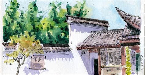 China Garden Tacoma Wa by Sketchers Tacoma Seattle Sketching Gardens