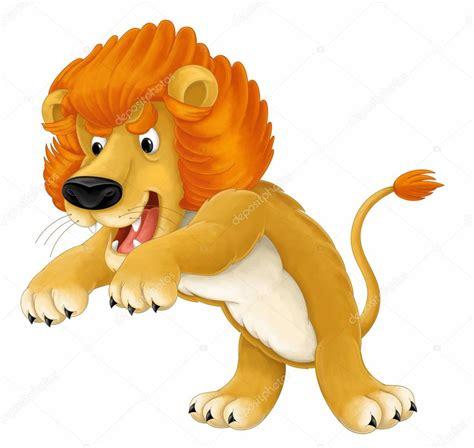 imagenes leones en caricatura dibujos animados de animales ilustraci 243 n de le 243 n