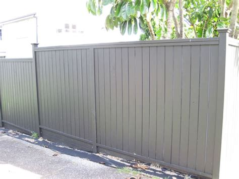 Shiplap Fence by Wooden Timber Shiplap Fence With Flat Top Built By