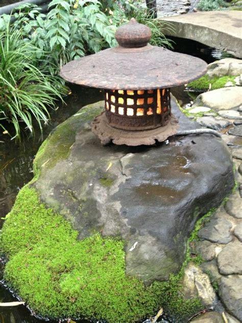 garten deko laternen japanischer garten dekoration aus laternen outside