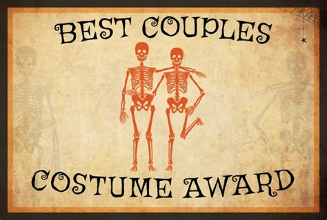 10 free costume award certificates printables
