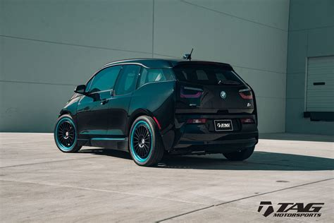 Bmw I3 Tieferlegen bmw i3 looks intriguing with hre wheels carscoops