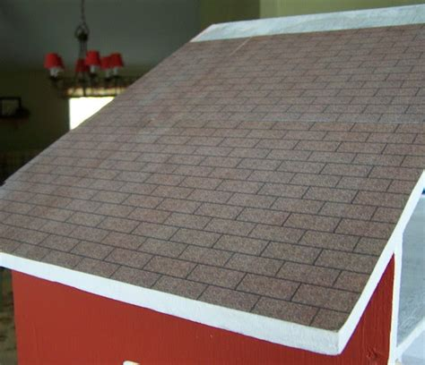 5 dollar dollhouse roofing with printables five dollar dollhouse