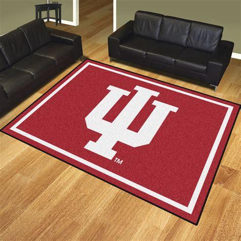 Indiana University Hoosiers Area Rug Nylon 8 X 10 8 X 10 Area Rug