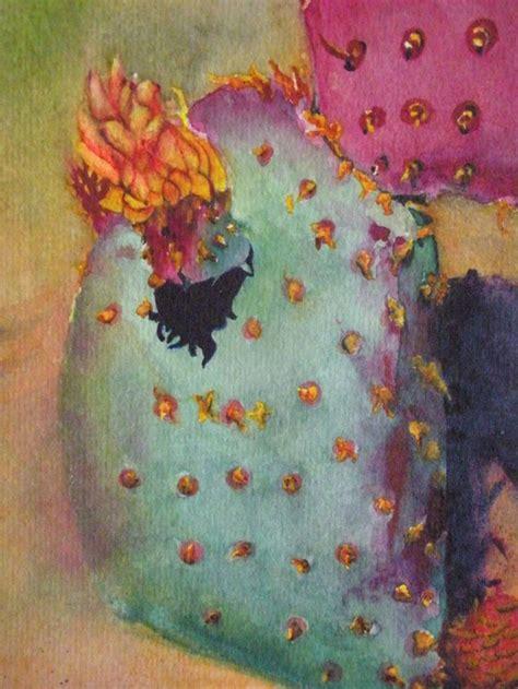 watercolor cactus wallpaper  wallpapersafari