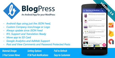 tutorial wordpress app blogpress an android app for your wordpress by