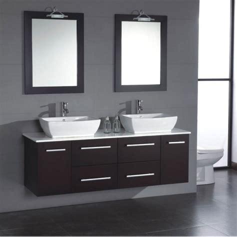 cambridge 63 inch solid wood porcelain double sink vanity set