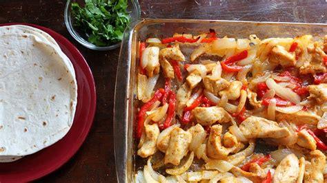 printable easy bake oven recipes easy oven baked chicken fajitas recipe from betty crocker
