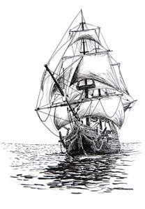 sailing ship by kkokosz on deviantart