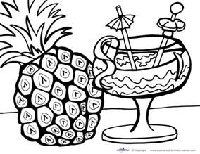 Luau Coloring Pages 02jpg sketch template