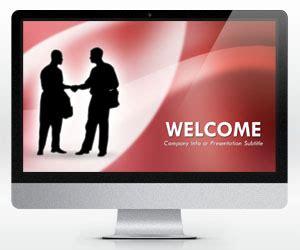 Free Widescreen Handshaking Powerpoint Template 16 9 Free Powerpoint Templates Slidehunter Com Widescreen Powerpoint Templates