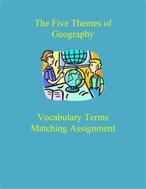 themes of geography packet 32 best images about classroom ideas geography on pinterest