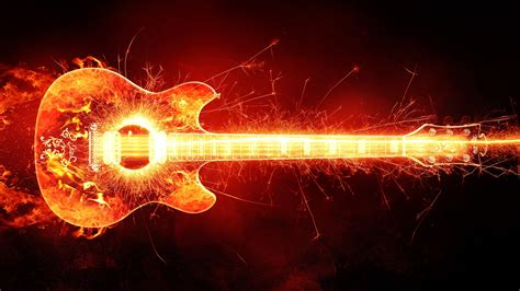 fire guitar wallpapers hd wallpapers id